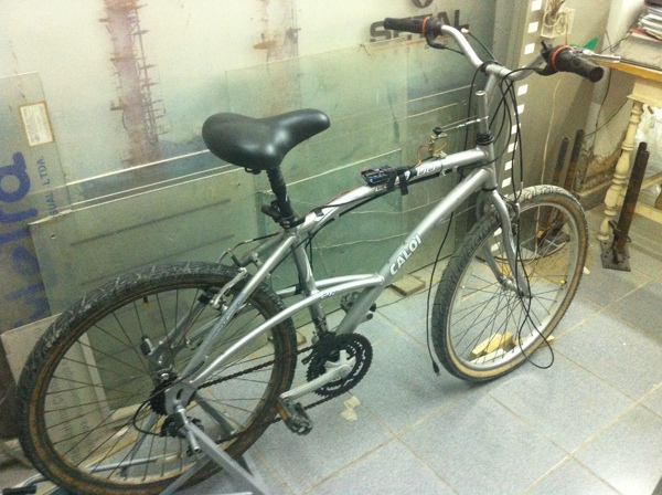 Protótipo da Eletrônica na Bicicleta